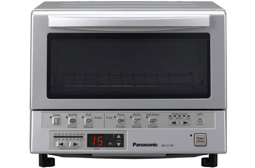 Panasonic NB-G110P Toaster Oven with Double Infrared Heating