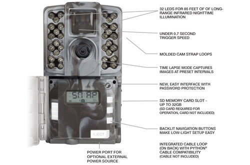 Moultrie A-35 Moultrie Mobile Compatible Game Camera