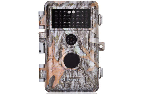 BlazeVideo 16MP Game Trail Cameras for Hunting Deer & Wildlife