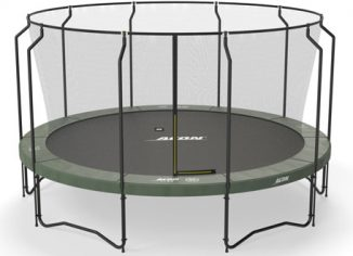 Acon Air15ft Round Trampoline with Net & Heavy Duty Springs