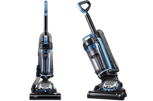 Black & Decker AIRSWIVEL Lightweight Blue Upright Cleaner