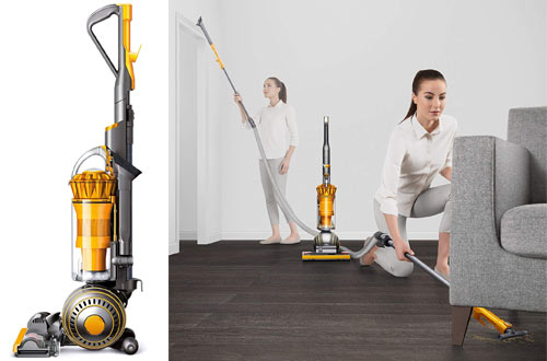 Dyson Yellow Upright Vacuum Cleaner - Ball Multi Floor II