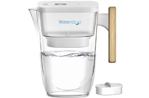 Waterdrop Extream Long-Lasting 10-Cup Fur Water Filter Pitcher