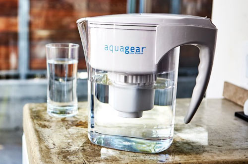 Aquagear Glass Water Filter Pitcher
