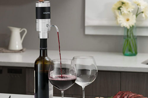 Gourmia GWA9985 Electric Red Wine Aerator and Dispenser