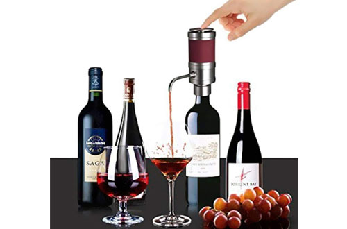 NutriChef Electric Wine Aerator - Air Decanter Diffuser for Red Wine