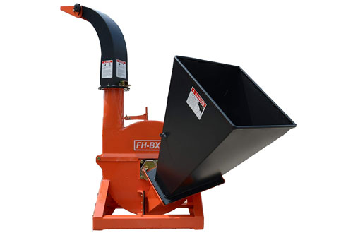 Farmer Helper 4-Inch Diameter Portable Wood Chipper