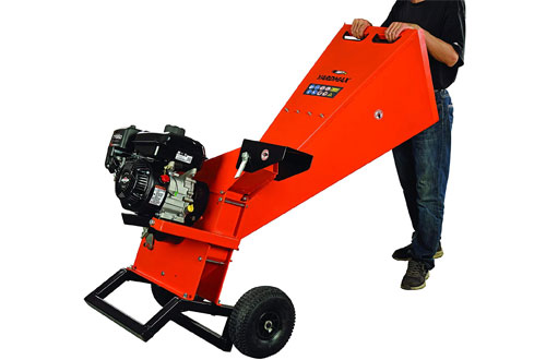 "YARDMAX YW7565 3"" Diameter Wood Chipper Shredder - Briggs & Stratton"