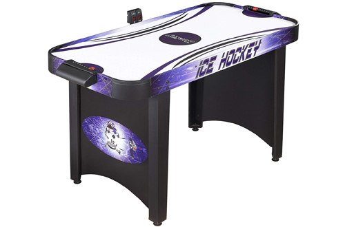 Stylish 4-Ft Hathaway Hat Trick Air Hockey Table, Great for Kids & Adults