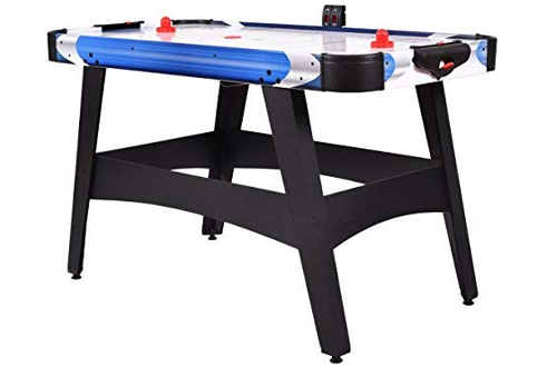 Goplus Air Hockey Table - LED Electronic Scoring Sports Game for Kids