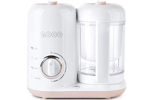Minne QOOC 4-in-1 Professional Baby Food Maker Pro