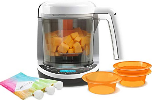 Baby Brezza Puree Baby Food Maker Set with Pouches for Infants & Toddlers