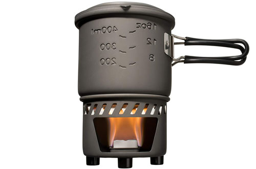 Esbit CS585HA Lightweight Camping Cook Set with Solid Fuel Tablets