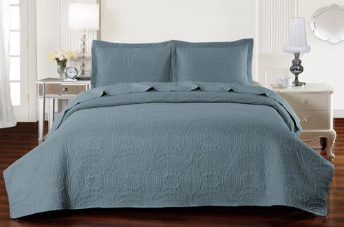 Mellanni Comforter Oversized KingBedspread Coverlet Set