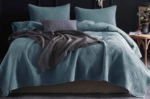 KASENTEX QueenUltra Soft Bedspread &Coverlet Set