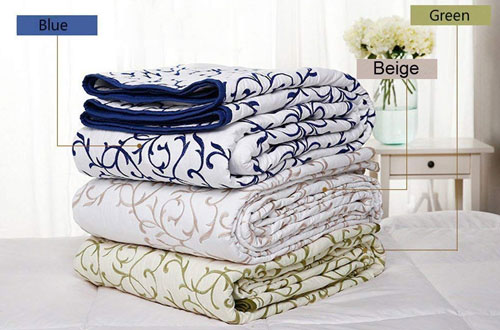 Mixinni Reversible Queen Full-size Bedspread & Coverlet Set