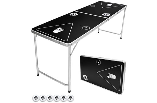 Folding & Portable Beer Pong Table – GoPong