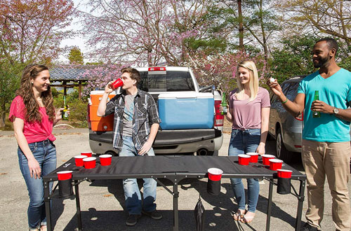 Portable and Collapsible Beer Pong Table – Camerons