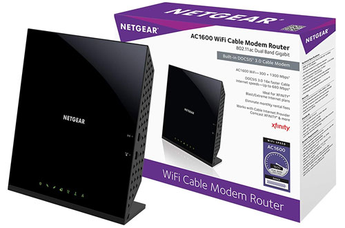 Netgear C6250-100NAS AC1600 16x4 WiFi Cable Modem Router Combo