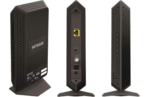 NETGEAR CM600 24x8 DOCSIS 3.0 Cable Modem -Maximum Download Speeds of 960Mbps