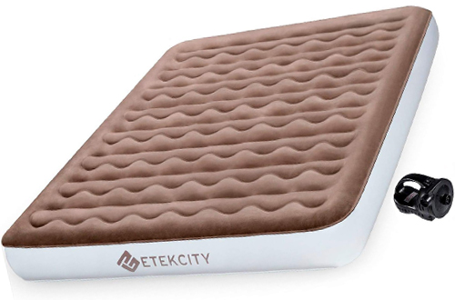 EtekcityTwin Queen Size Air Mattress Blow Up Inflatable Airbed for Camping
