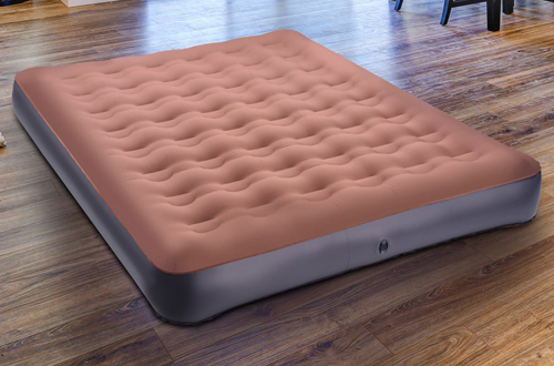 TOPELEKQueen SizeCamp Air Mattress & Inflatable Air Bed for Outdoors