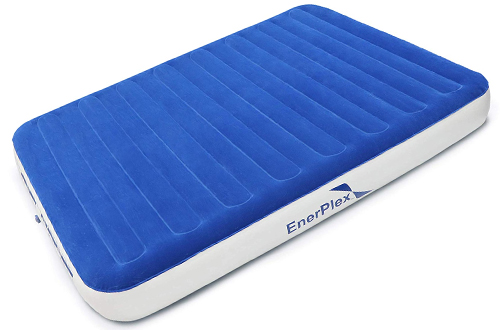 EnerPlex Queen Size Air Mattress & Airbed for Home and Camping