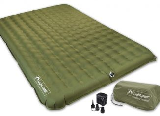 Lightspeed PVC-Free Air Bed Mattress for Camping & Travel