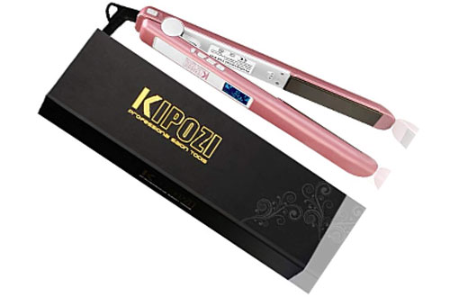 KIPOZI Professional Flat Iron with Steam Hair Straightener