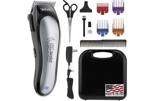Wahl Cordless Dog Hair Clippers for Small/Large Dogs and Cats