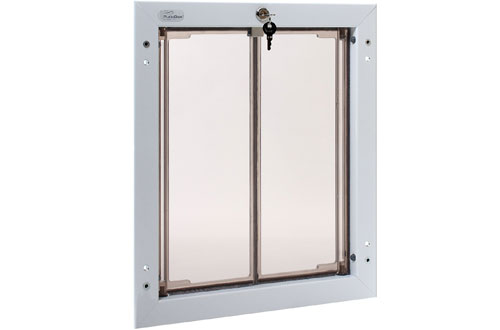 PlexiDor Performance Wall Mount Large Pet Doors