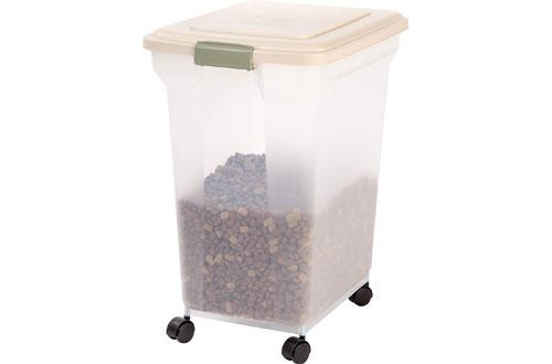 Iris Premium Airtight 55 lb Pet Food Storage Containers