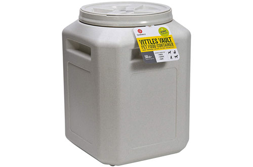 Vittles Vault Stackable 50 lb Dog Food Container