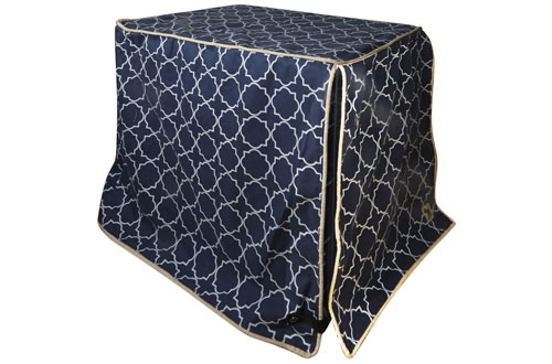 Molly MuttDurable & WashableDog Crate Cover - 100% Cotton