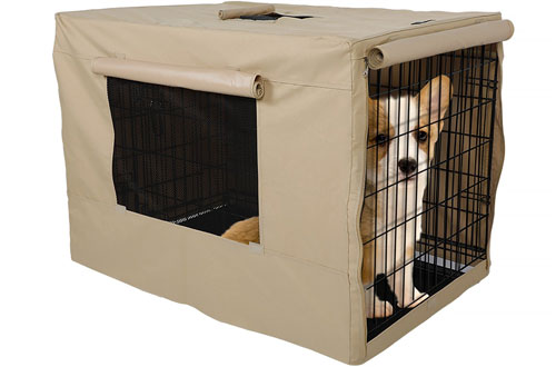 X-ZONE PET Indoor Durable Windproof Kennel Covers for Wire Dog Crates