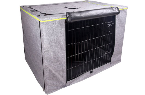 Petsfit Polyester Pet Crate Cover for Wire Crates