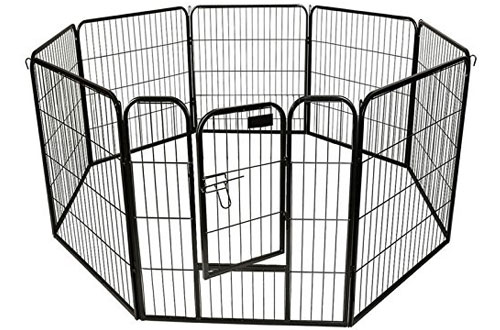 BestPet Heavy Duty Pet Playpen - Dog Cat Exercise Pen