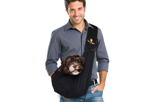 FurryFido Reversible Sling Carrier for Cats & Dogs