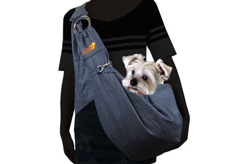 Alfie Pet Petoga Couture - Chico Reversible Pet Sling Carrier