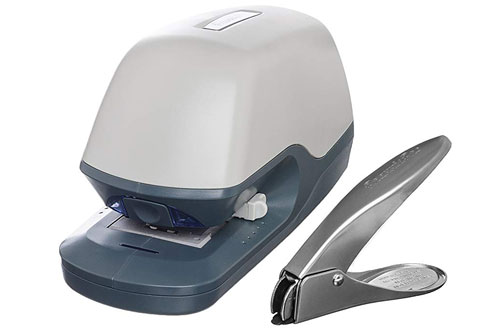PraxxisPro Premium Flat-Clinch Electric Stapler - 40 Sheets