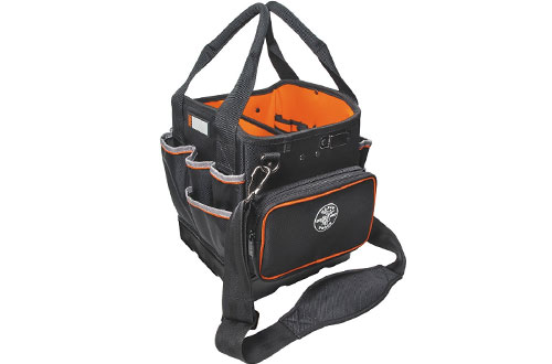 Klein Tool Bag for Tool Storage with Shoulder Strap Has - 40 Pockets