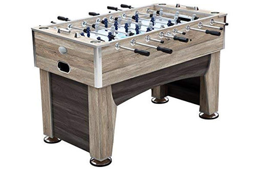 Harvil Beachcomber Foosball Table for Kids/Adults with Leg Levelers