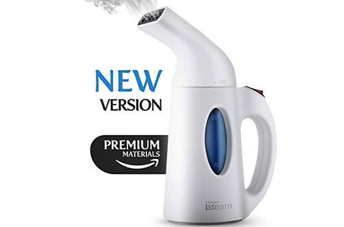 Isteam Powerful Multi-Use Steamer for Clothes and Garment Wrinkle Remover