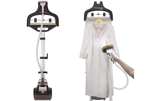 Rowenta Clothes and Garment Steamer - Built-In Hanger