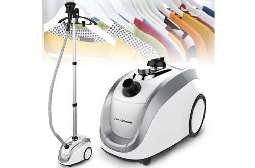 PurSteam Full-Size Professional Steamer for Clothes & Garments
