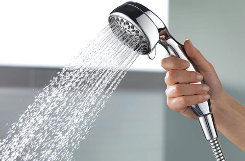 Delta Faucet 7-Spray Touch Clean Handheld Shower Head