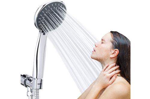 Handheld Shower Head High Pressurewith Hose and Adjustable Bracket