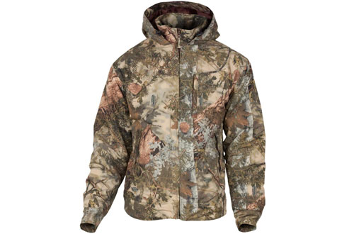 King's Camo Classic Cotton Large Ripstop Hooded Jacket