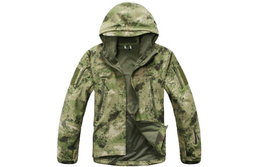ESDY Noga Men's Hunting Camping Waterproof Coats - Camouflage Jacket
