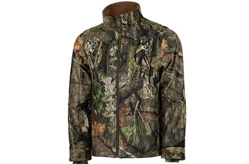 Mossy Oak Men's Camo Hunting Jacket in Multiple Patterns
